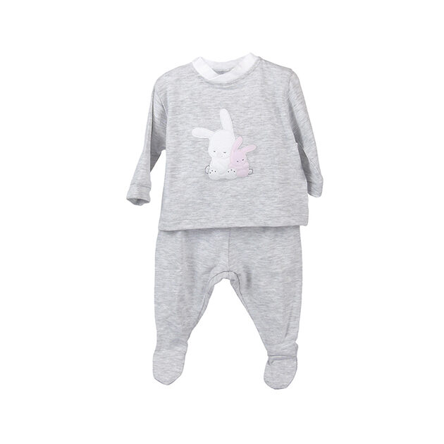 Completino in jersey Coccodè | Abbigliamento neonato | VicotoriaKids
