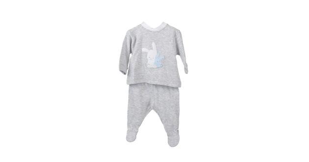 Completino grigio in jersey Coccodè | Abbigliamento bambino | VictoriaKids
